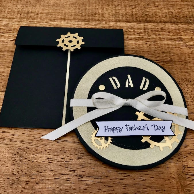 Steampunk Father's Day Card