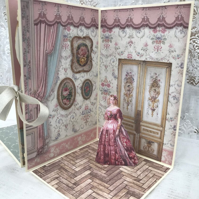 Doll's House Pop-Up Book Angel Room