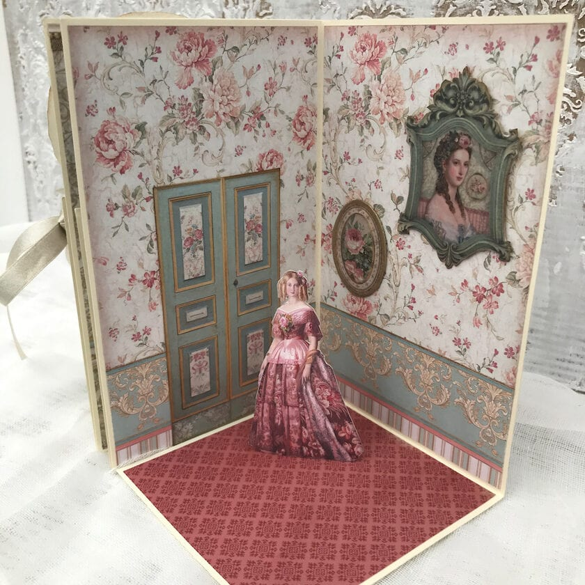 Doll's House Pop-Up Book Rose Room