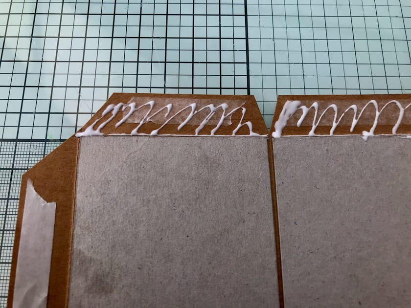 Double-sided tape and glue