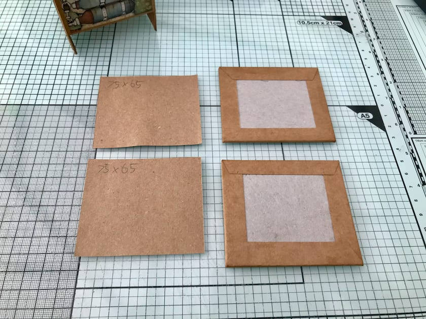 Kraft paper for lid and base